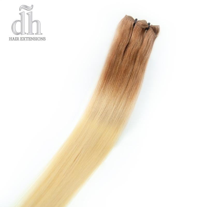 Extensões de cabelo californianas, cabelo 100% natural Remy