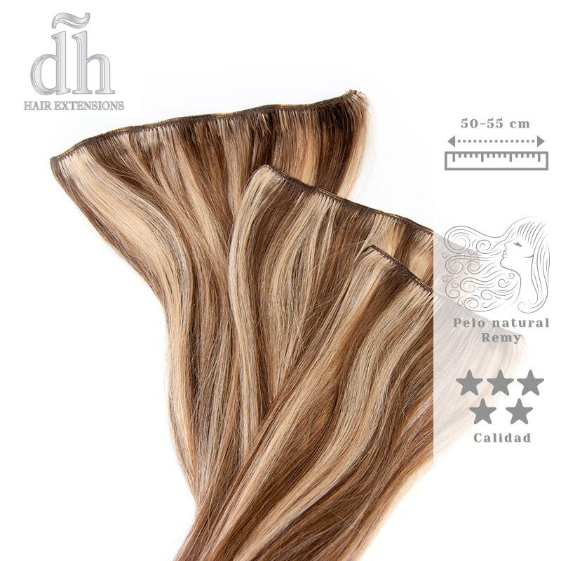Extensões de Clip Remy - DH Hair Extensions