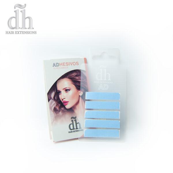 Recarga de Extensões Adesivas da marca DH Hair Extensions
