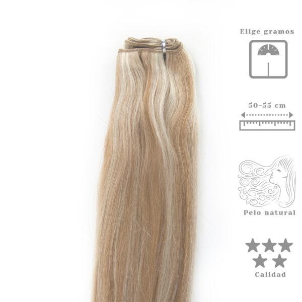 Extensões de cabelo em banda de cabelo Remy