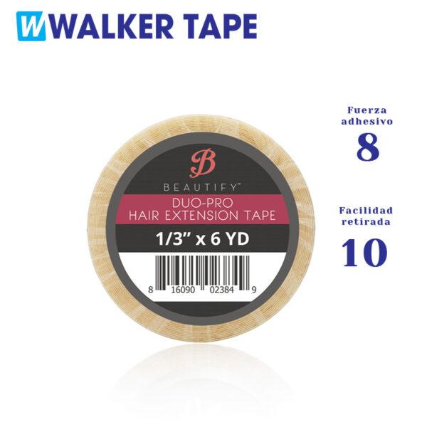 Fita adesiva dupla face duo pro da Walker tape para substituição de extensões adesivas.