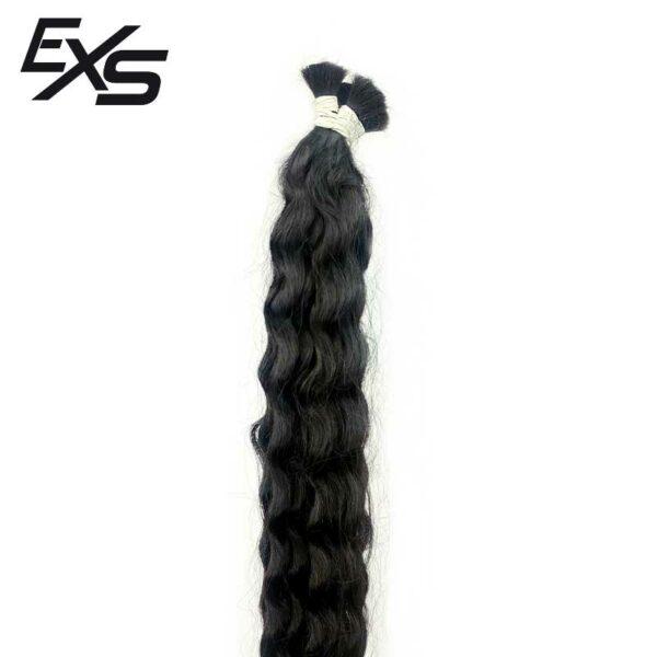 Extensões de cabelo virgem solto asiático encaracolado